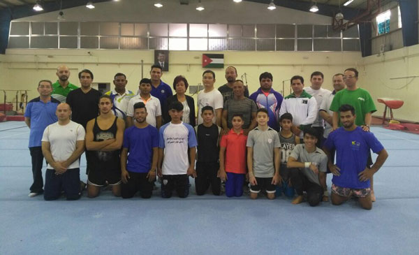 Common training camp for MAG held in Amman 2017